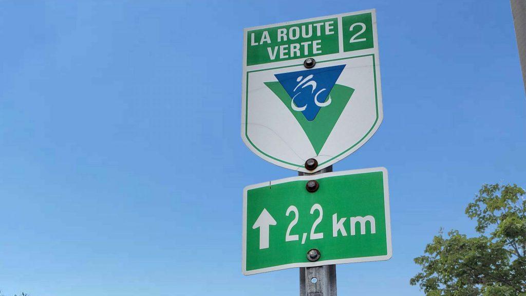 La route verte à Blainville