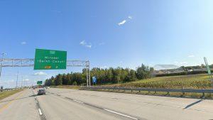 autoroute Mirabel St-Canut