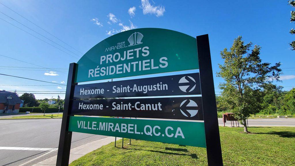 projet résidentiel Mirabel St-Canut Hexome