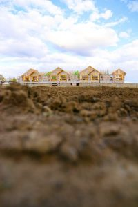 Maison de ville CAN3 en construction