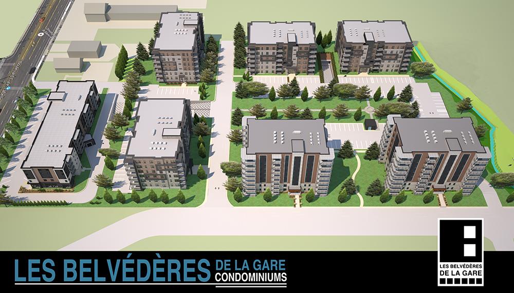 plan ensemble Belvédères de la Gare
