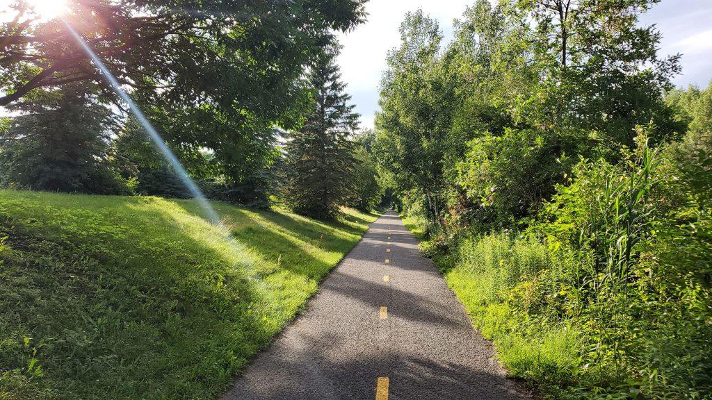 piste cyclable Blainville
